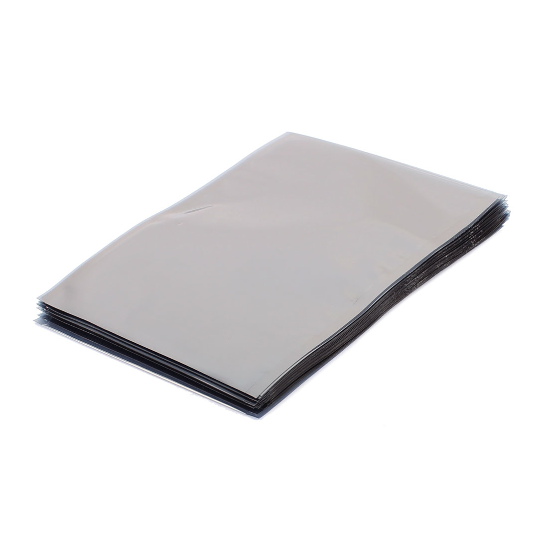 50 Pcs 110mm x 150mm Silver Tone Flat Open Top Anti Static Bag For Electronics