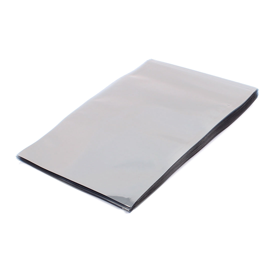 50 Pcs 120mm x 180mm Silver Tone Flat Open Top Anti Static Bag For Electronics