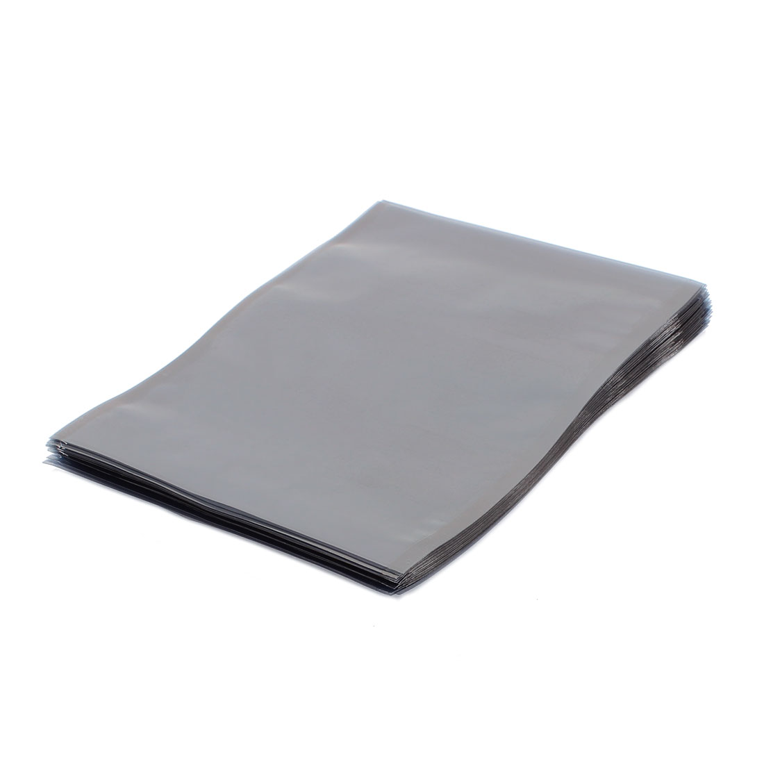 50 Pcs 130mm x 170mm Silver Tone Flat Open Top Anti Static Bag For Electronics