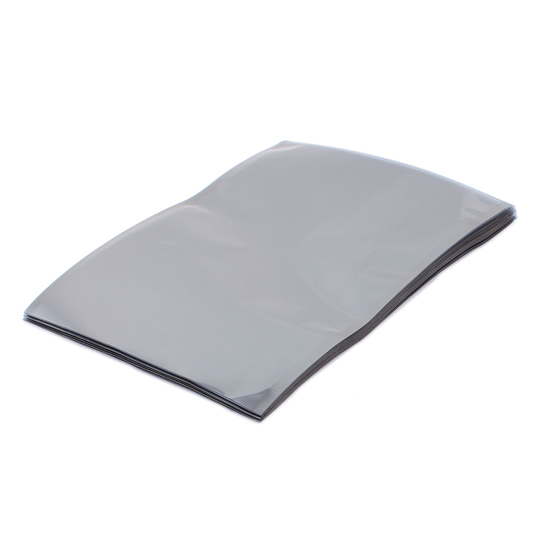 50 Pcs 150mm x 200mm Silver Tone Flat Open Top Anti Static Bag For Electronics