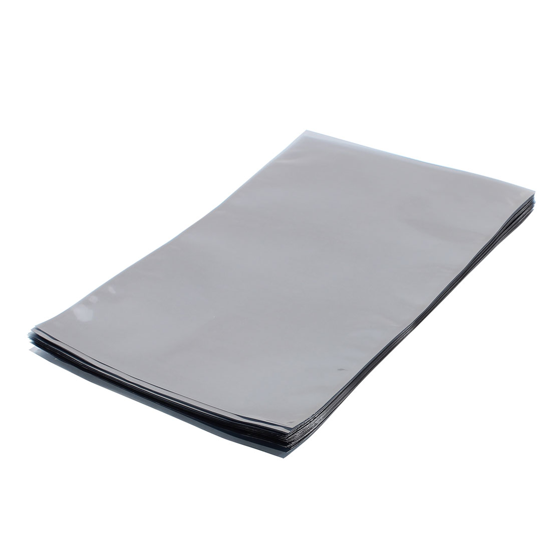 50 Pcs 230mm x 340mm Silver Tone Flat Open Top Anti Static Bag For Electronics