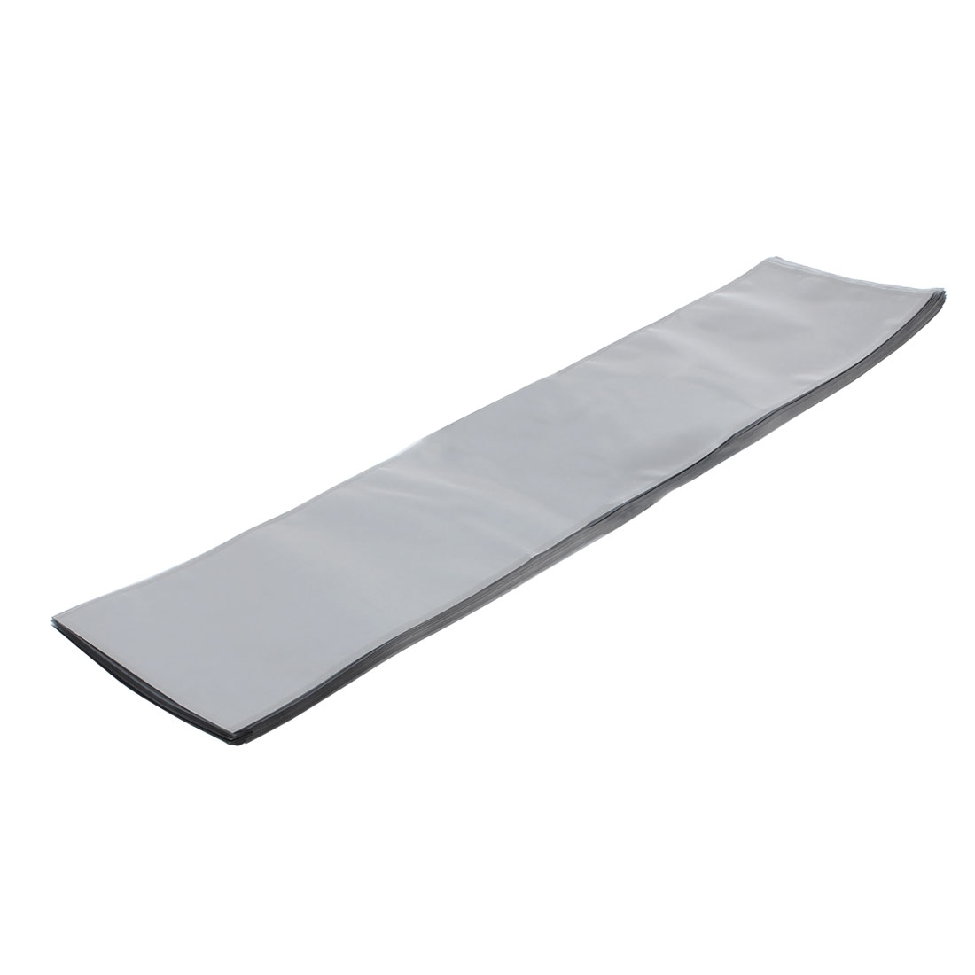 50 Pcs 150mm x 660mm Silver Tone Flat Open Top Anti Static Bag For Electronics