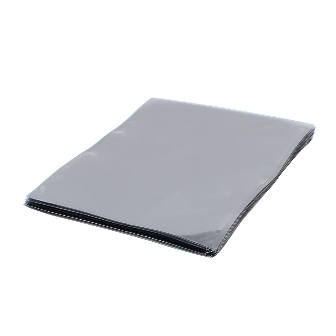 50 Pcs 300mm x 400mm Silver Tone Flat Open Top Anti Static Bag For Electronics