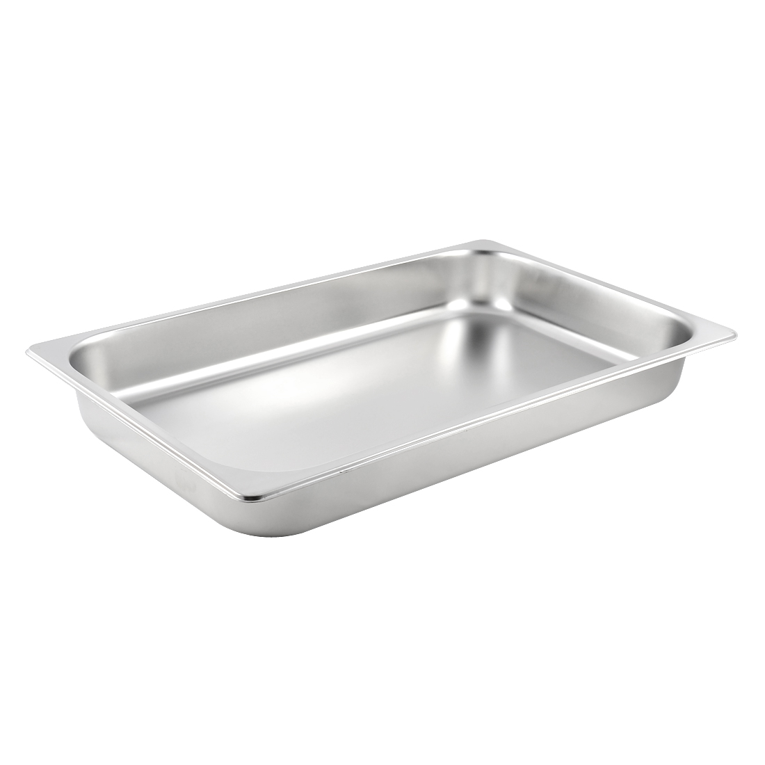 Home Kitchen Catering Metal Food Container 1/1 Gastronorm Pan 65mm Height