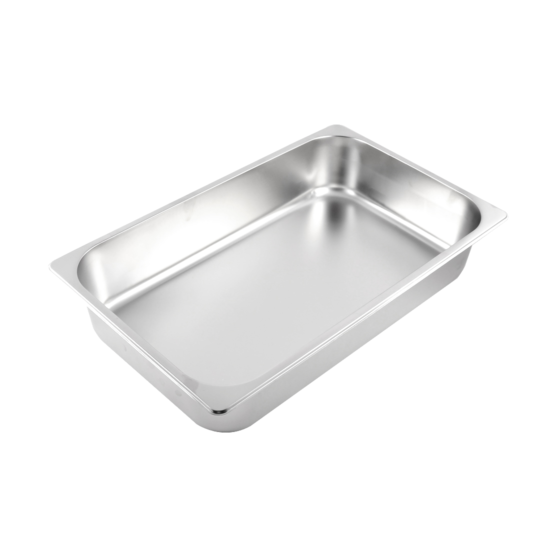 Home Kitchen Catering Metal Food Container 1/1 Gastronorm Pan 4 Inch Height