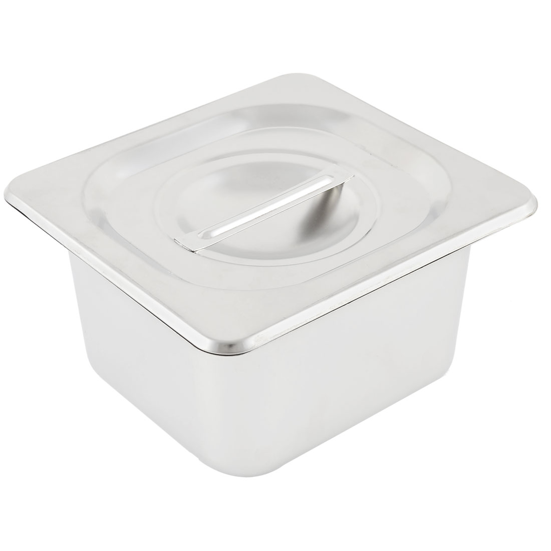 Home Kitchen Catering Stainless Steel Lid Food Storage Container Gastronorm Pan
