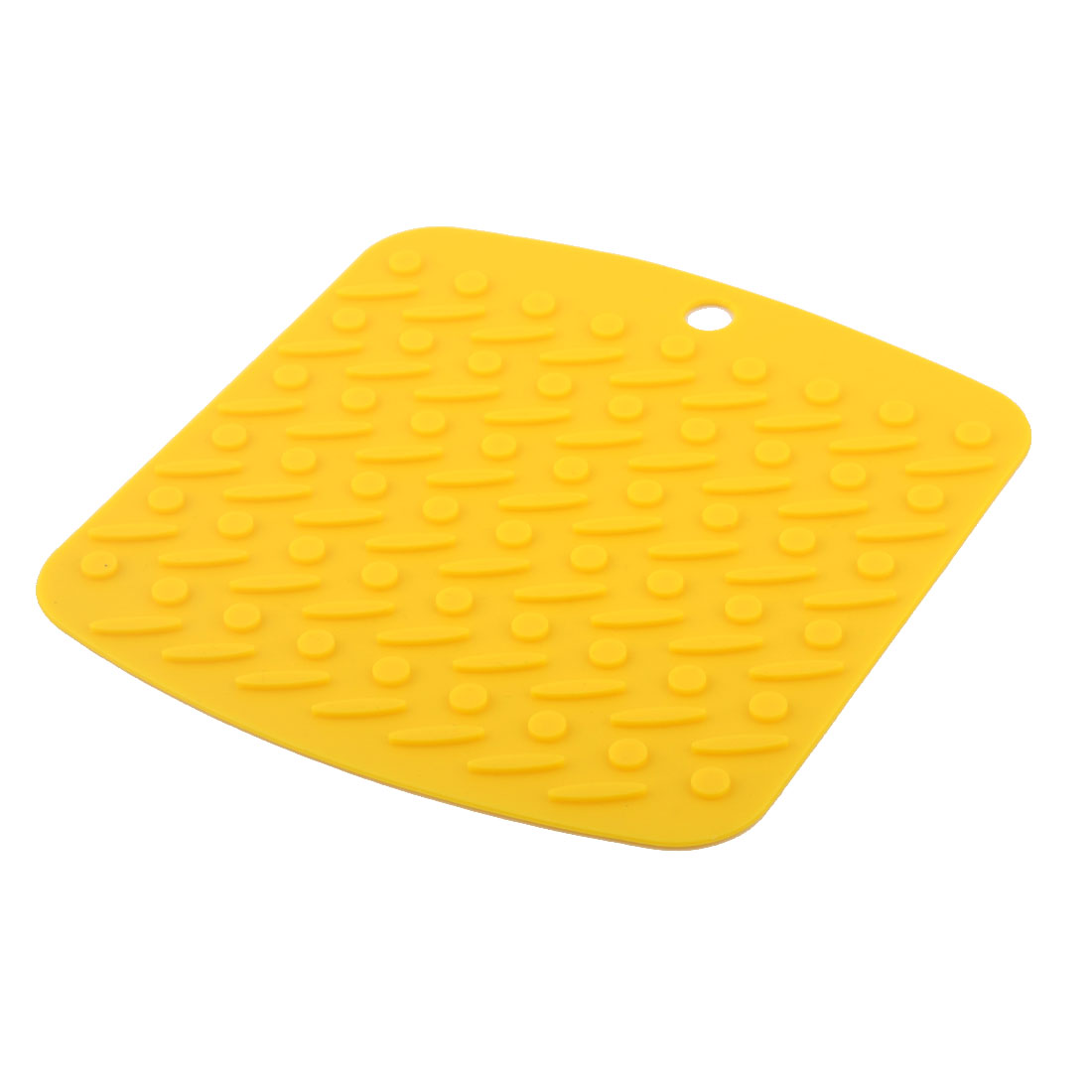 Silicone Nonslip Table Heat Resistant Mat Bowl Cup Cushion Placemat Pad Yellow