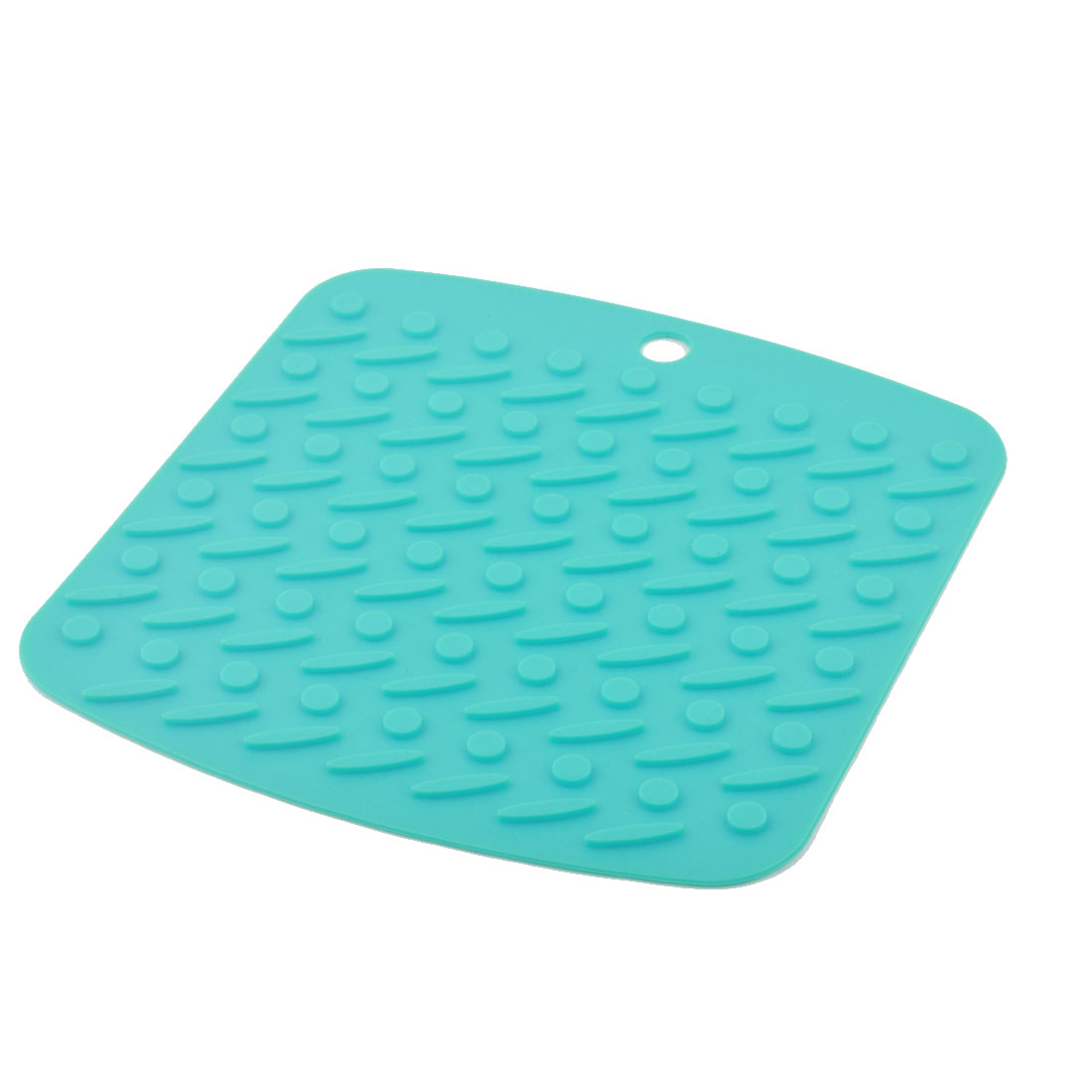 Silicone Nonslip Table Heat Resistant Mat Bowl Cup Cushion Placemat Pad Cyan