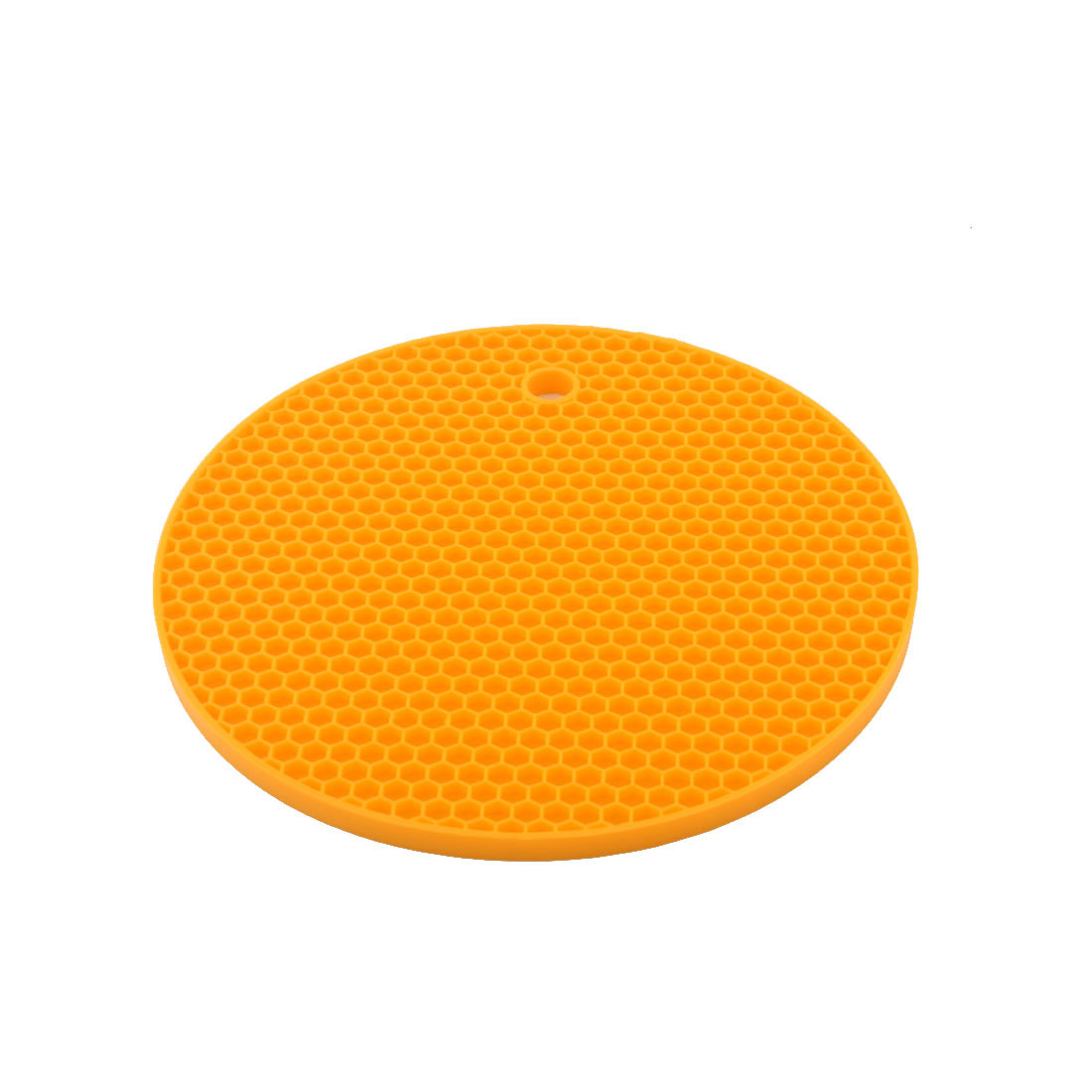 Silicone Honeycomb Design Table Heat Resistant Mat Cup Coaster Cushion Placemat Pad Yellow