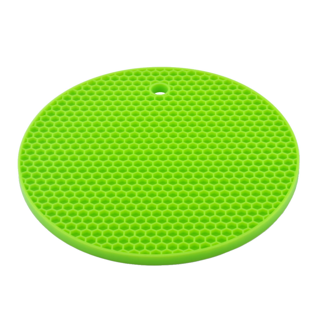 Silicone Honeycomb Design Table Heat Resistant Mat Cup Coaster Cushion Placemat Pad Green
