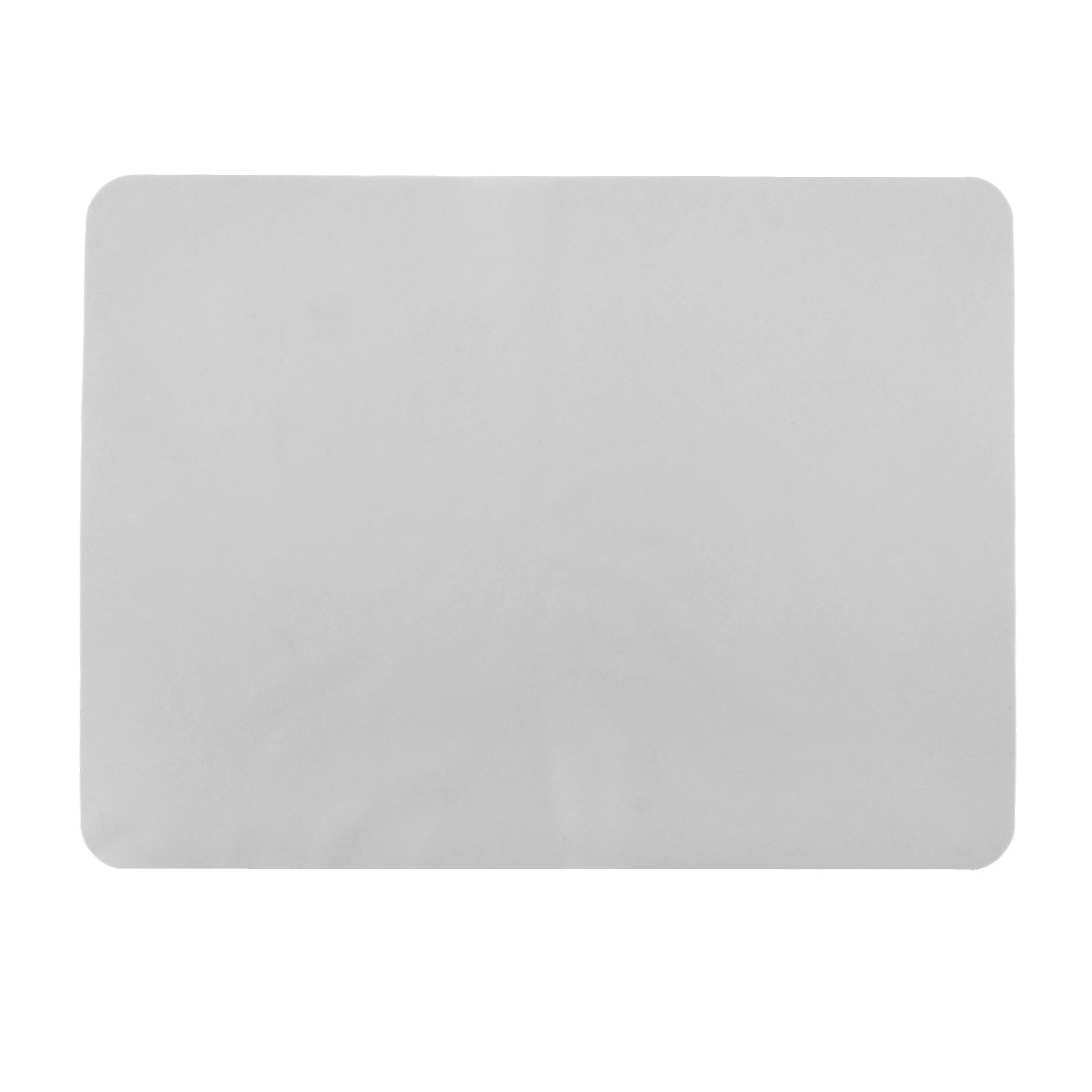Restaurant Silicone Table Heat Resistant Mat Cushion Placemat Clear White 40 x 30cm