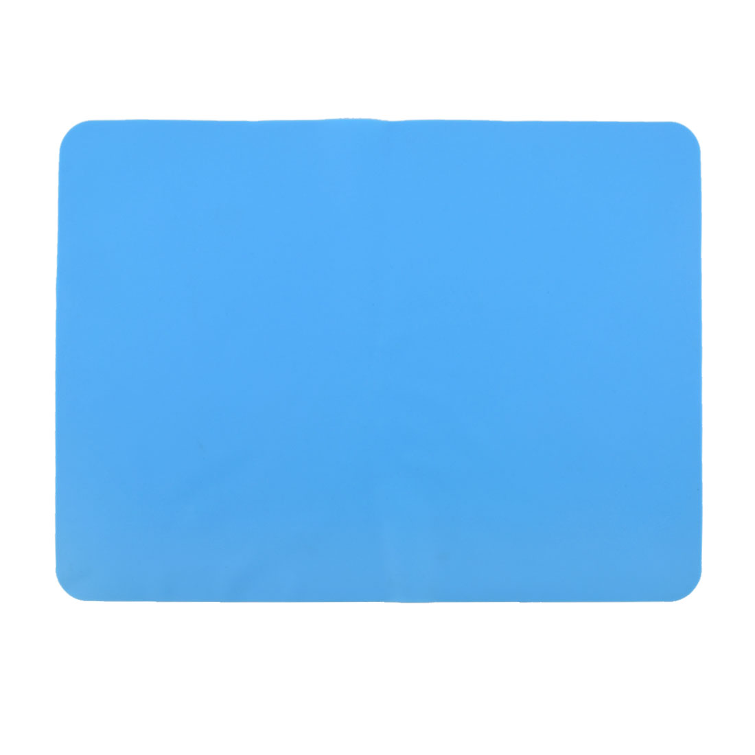 Western Restaurant Silicone Table Heat Resistant Mat Cushion Placemat Blue