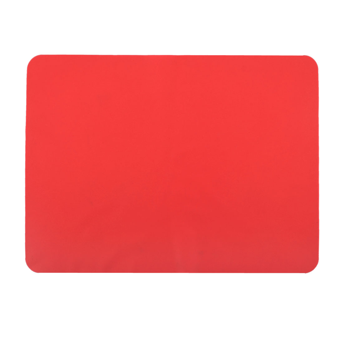 Western Restaurant Silicone Table Heat Resistant Mat Cushion Placemat Red
