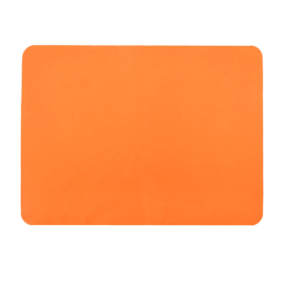 Western Restaurant Silicone Table Heat Resistant Mat Cushion Placemat Orange