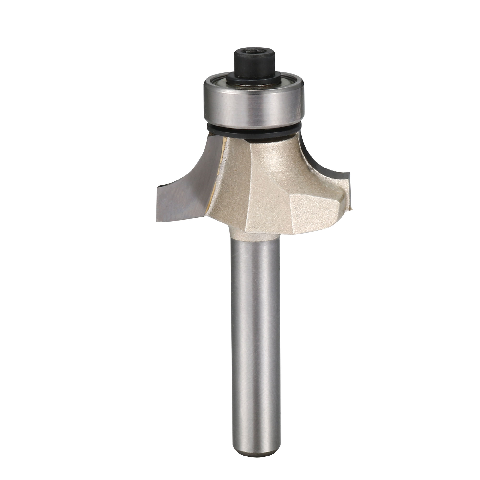 "1/4"" Shank Dia 1/4"" Radius Ball Bearing Round Over Beading Edging Router Bit"
