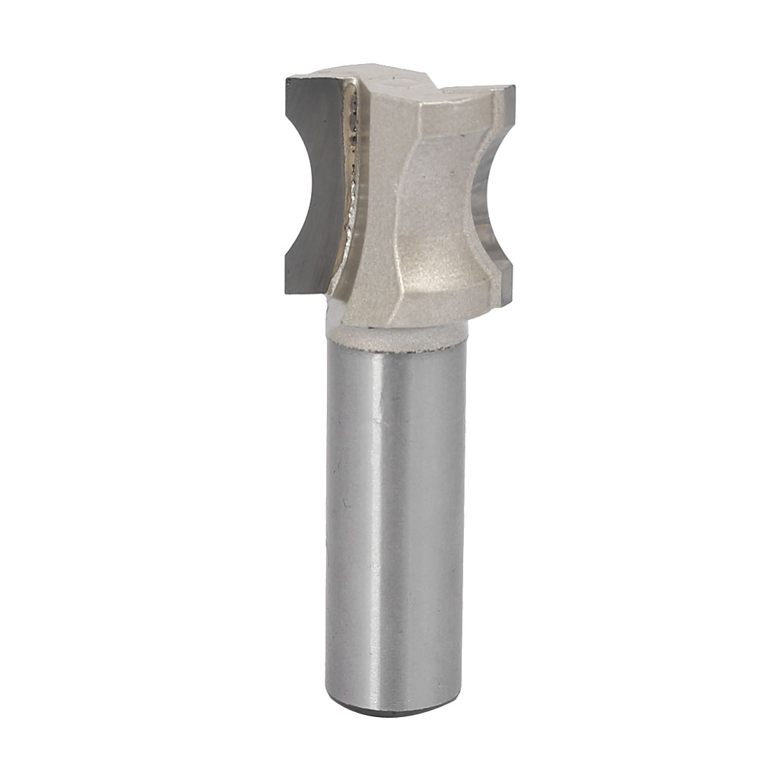 """1/2"""" Shank 1/2"""" Cutting Radian Width Double Flute Finger Nail Type Router Bit"""