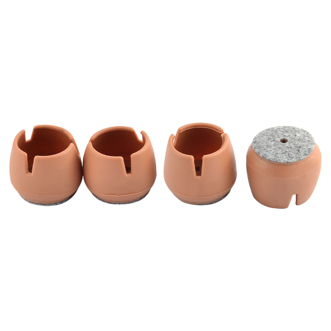 Home Cylindrical Shaped Table Desk Chair Leg Furniture Foot Covers 4pcs