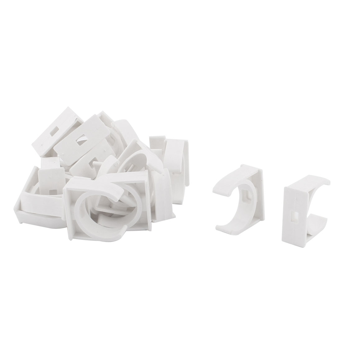 Water Tube Hose Pipe Multifunctional Fittings Parts Clamps Clips 32mm Dia 20pcs