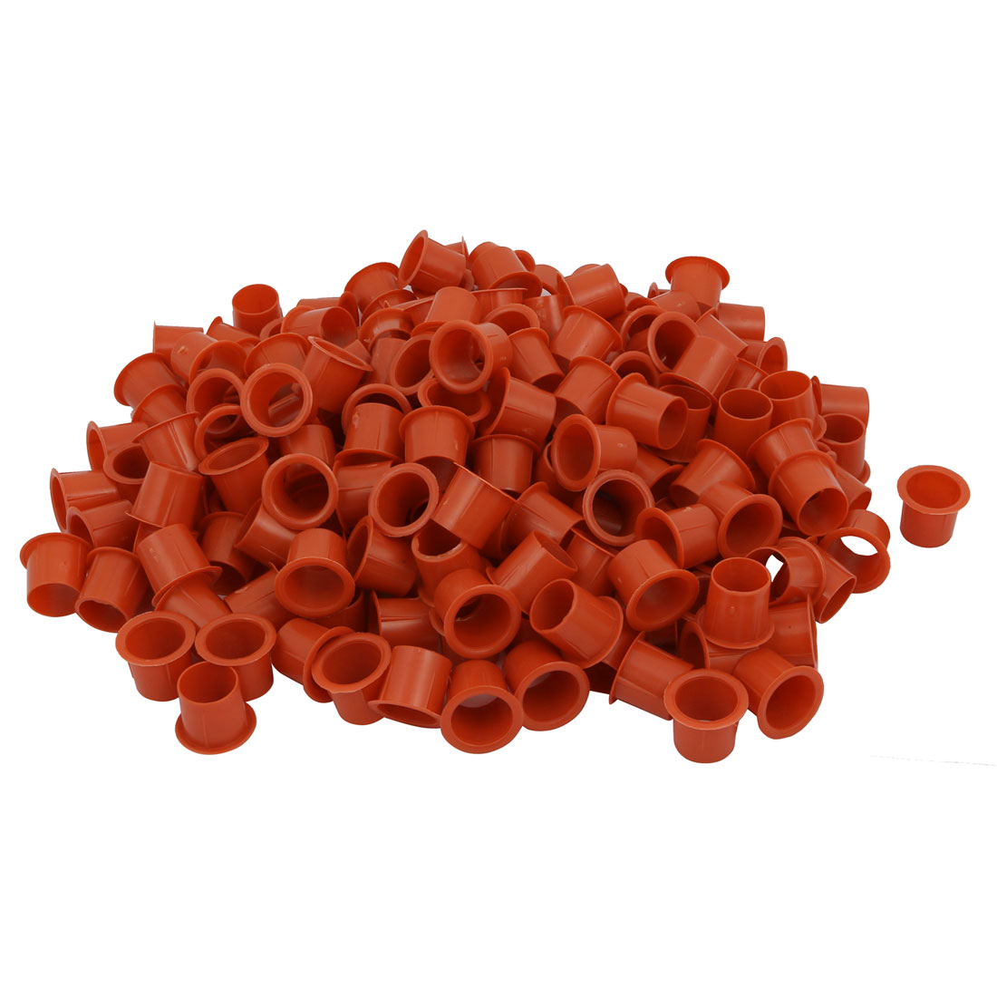 200 Pcs PVC 3/4 Inch Inner Diameter Straight Water Drainage Pipe Tube Connector