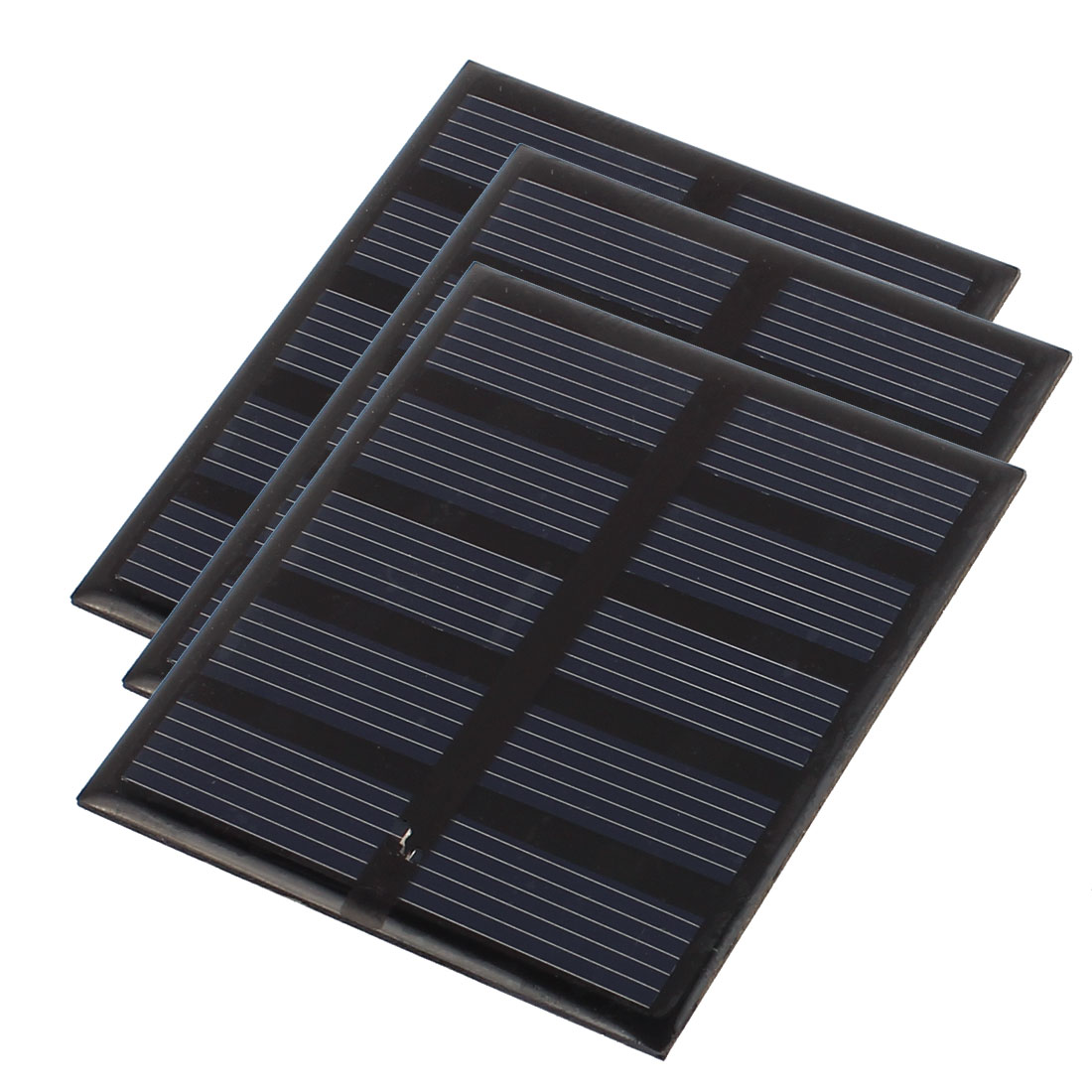 3Pcs DC 2.5V 200mA 0.5W Energy Saving Solar Cell Panel Module for Charger