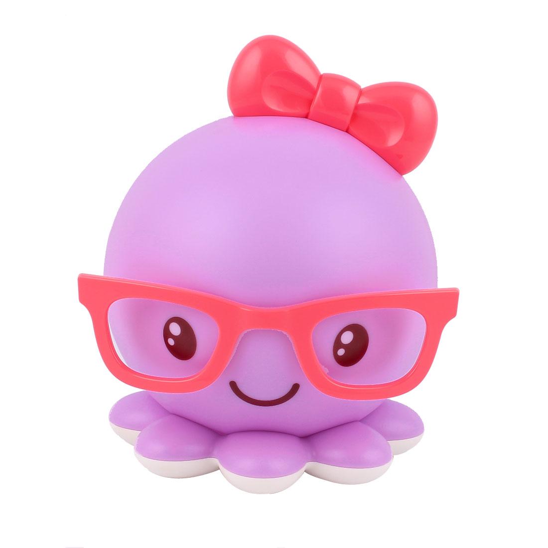 0.3W DC 5V Octopus Lamp USB Rechargeable LED Night Light for Children Toddler