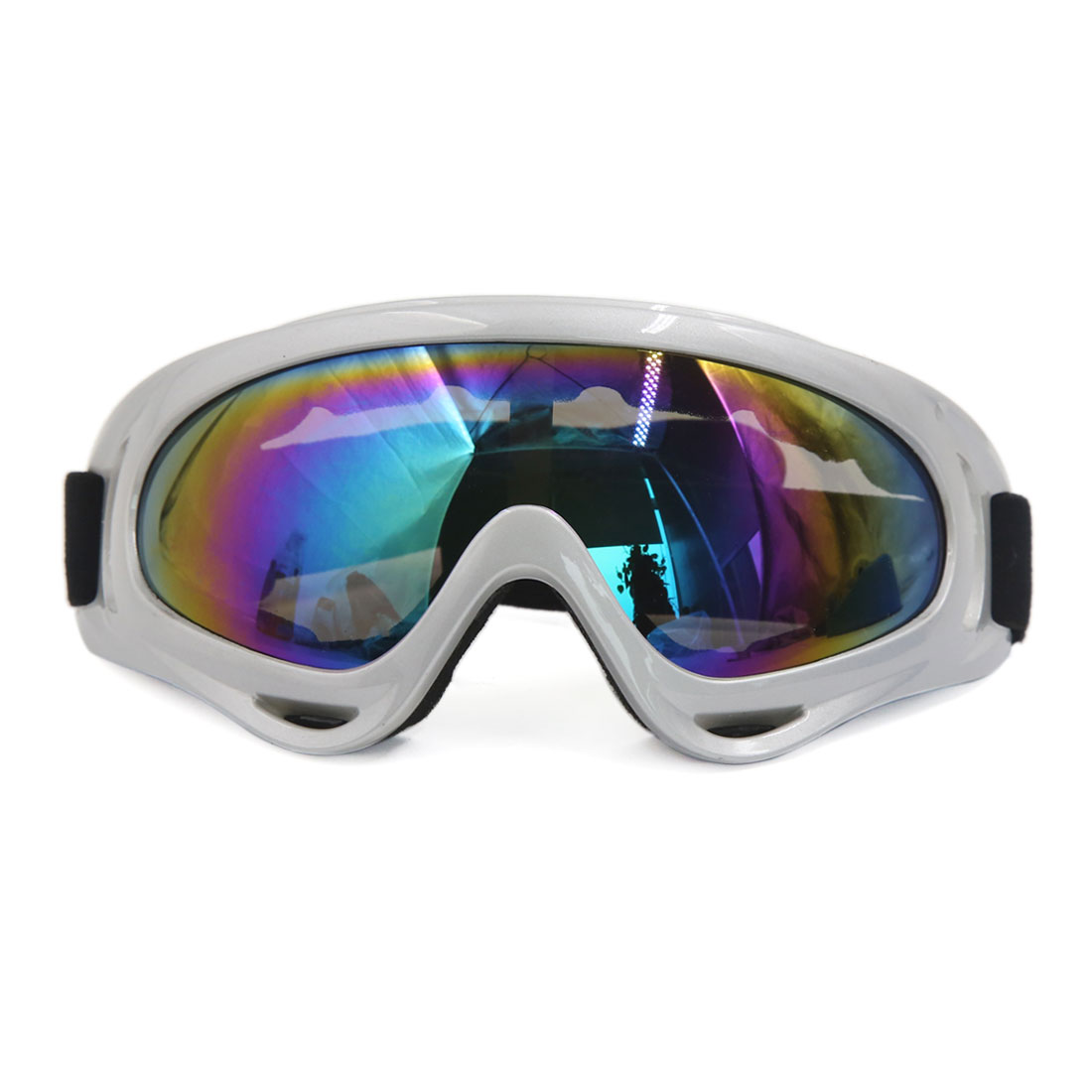 Motorcycle Motocross ATV Colorful Lens Anti-UV Windproof Goggles Sun Glasses