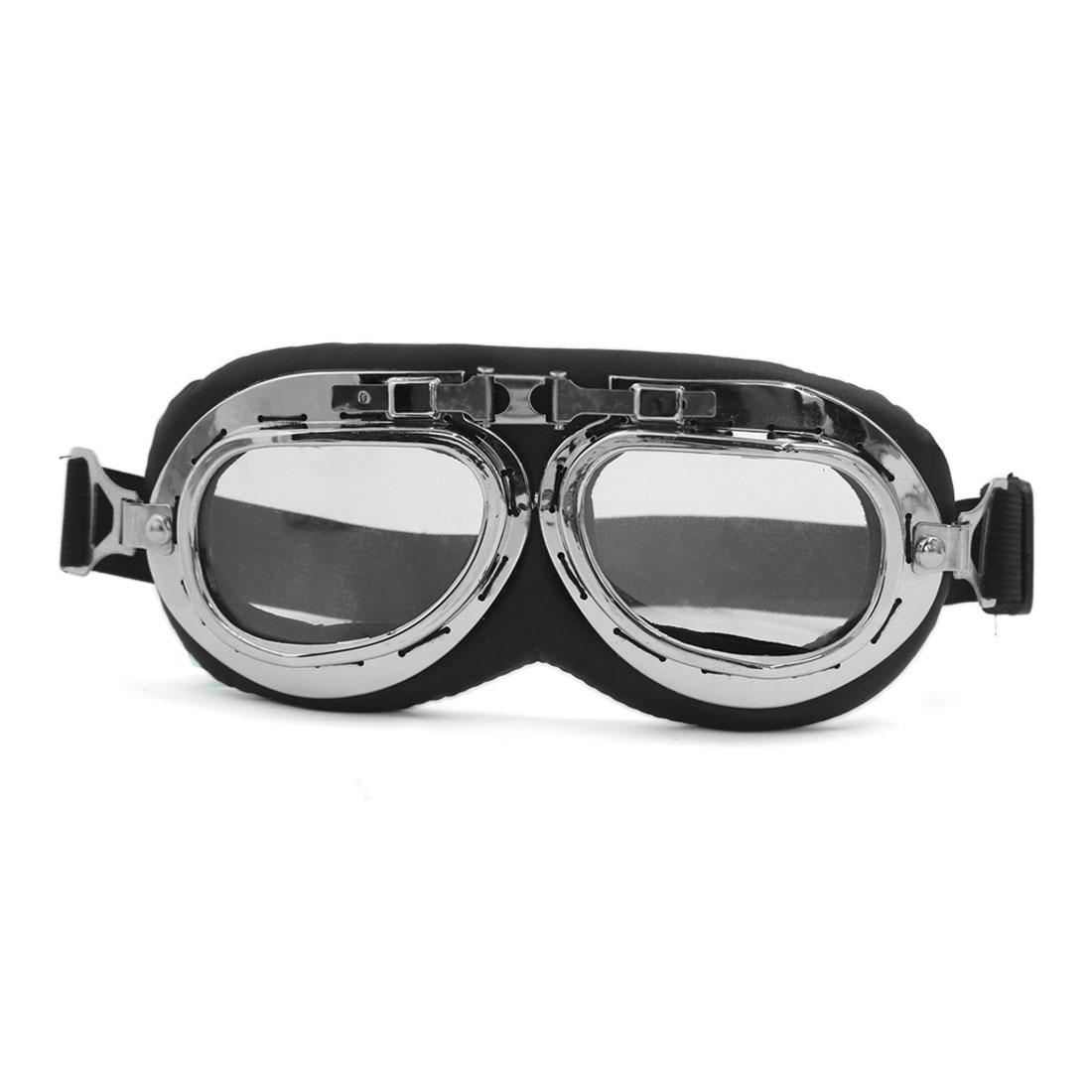 Anti-UV Motorcycle Motocross Scooter Pilot Goggles Helmet Safety Sun Glasses