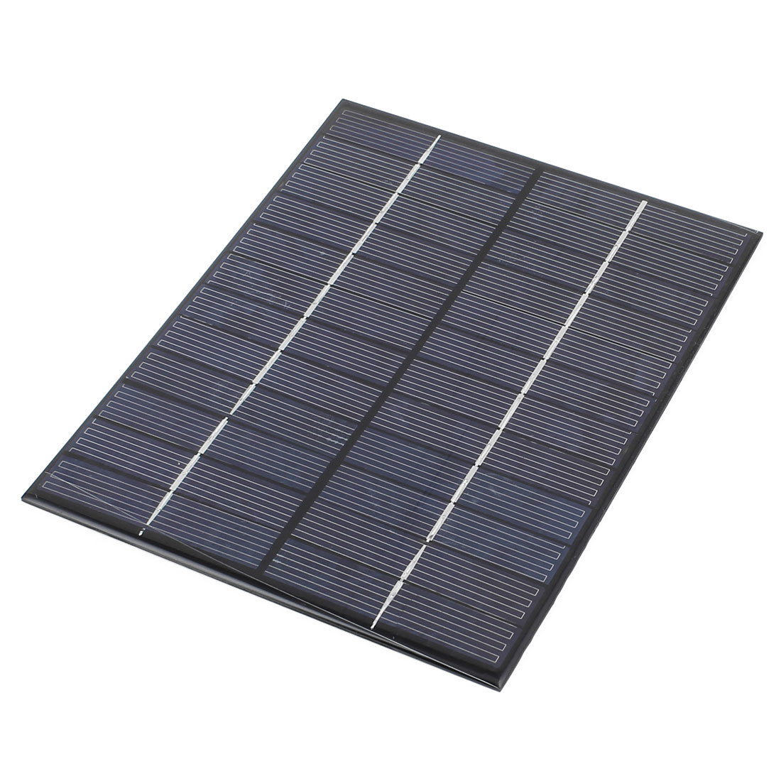 12V 5.2W DIY Polycrystallinesilicon Solar Panel Power Cell Battery Charger 210mm x 165mm