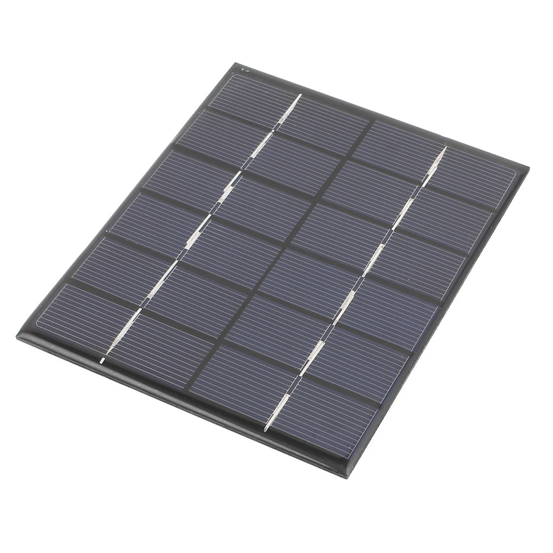 6V 2W DIY Polycrystallinesilicon Solar Panel Power Cell Battery Charger 136mm x 110mm