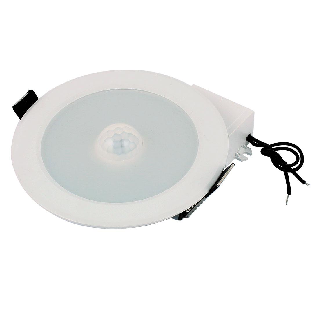 Ceiling Decor Spotlight Light 14 LED Lamp 7W AC85V-265V Motion Sensor Lighting