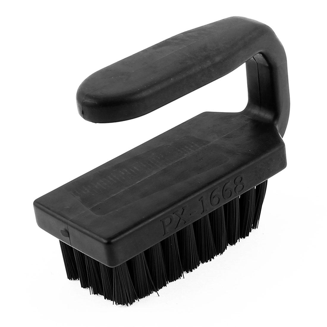 95 x 70 x 40mm Black U Shape Plastic Handle PCB Circuit Board Anti Static Brush