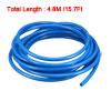 8mm x 5mm Fleaxible PU Tube Pneumatic Hose Blue 4.8M Length