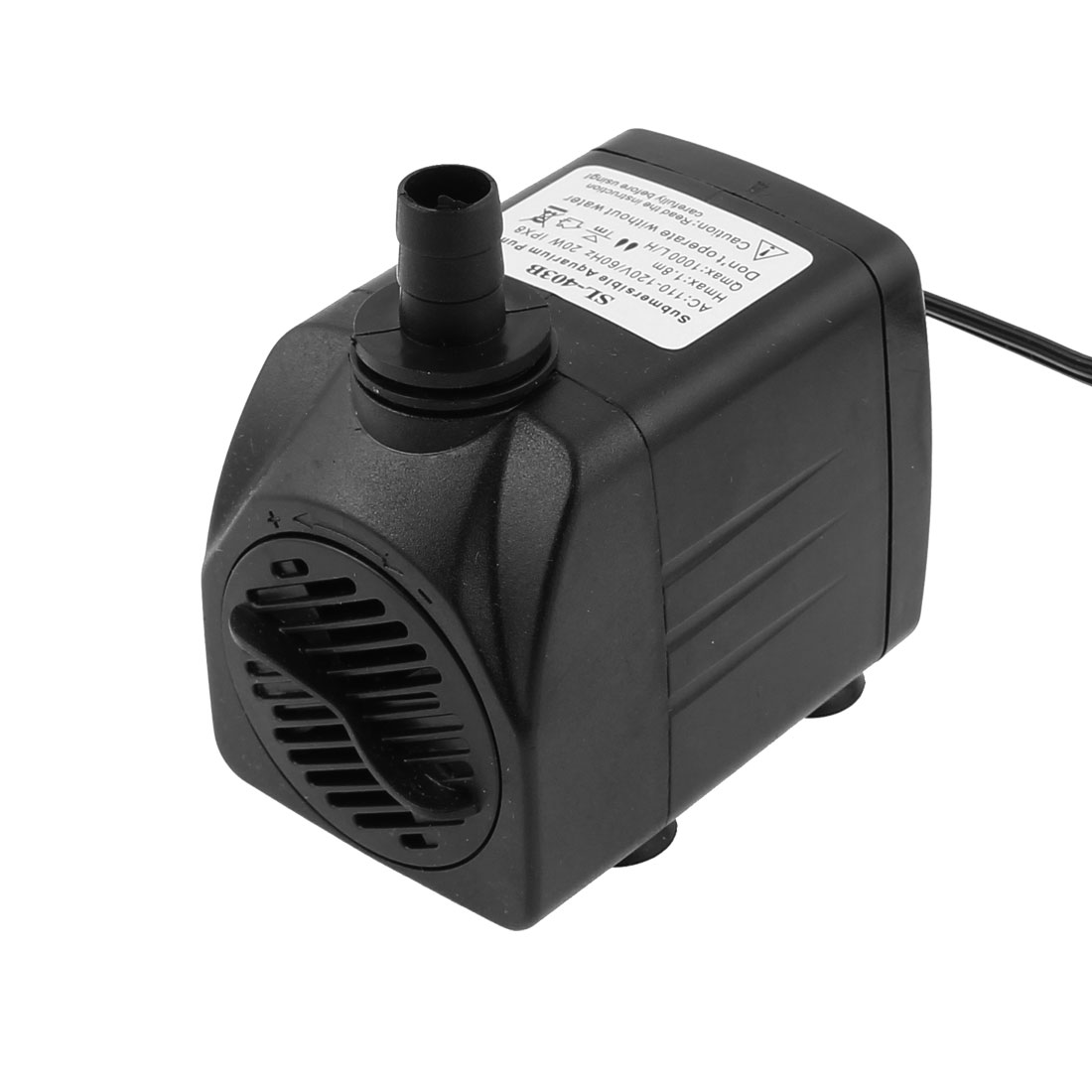 AC 110V-120V US Plug 20W 1000 L/H Electric Submersible Water Pump for Aquarium Fountain Pond