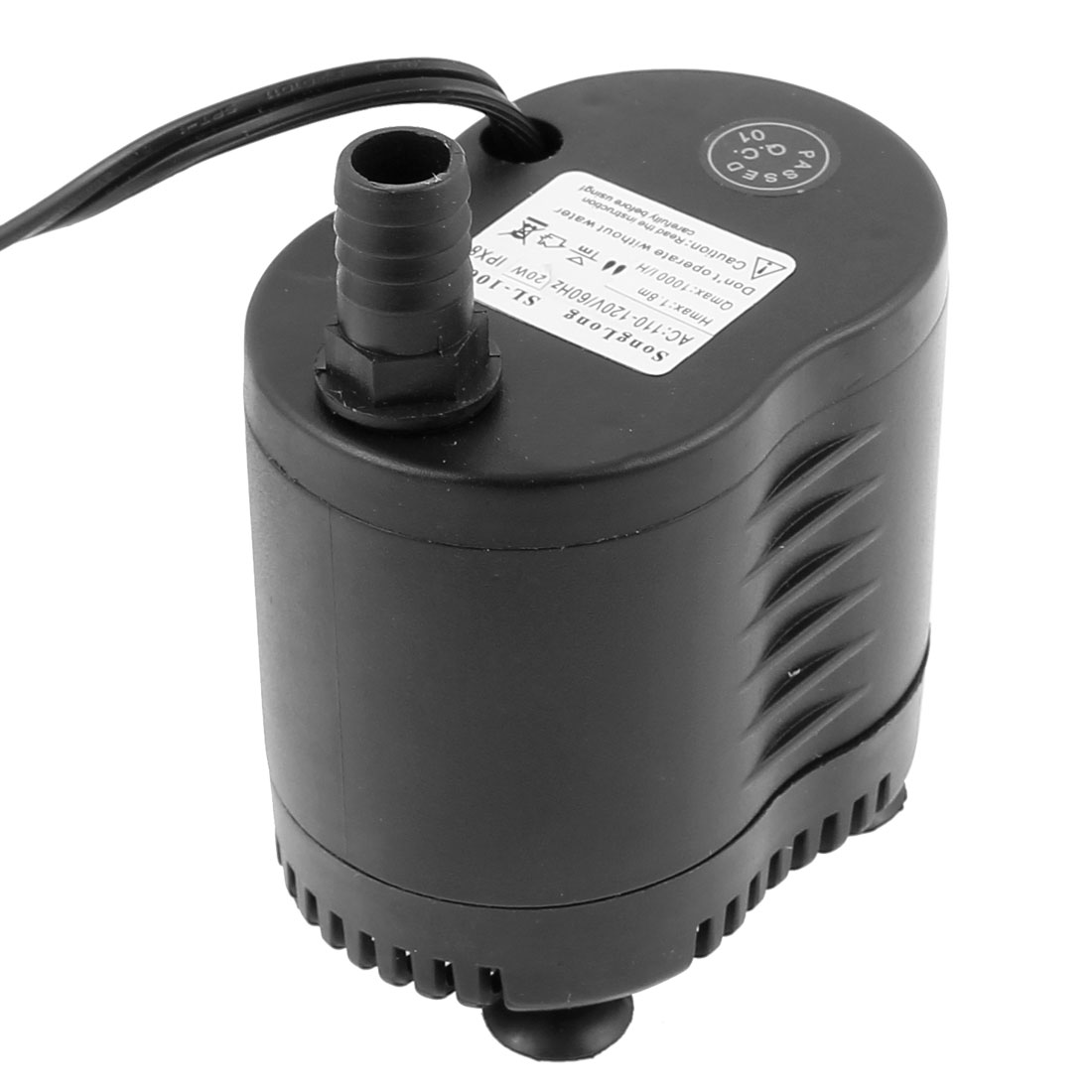 AC 110V-120V US Plug 20W 1000 L/H Flow Industrial Air Cooler Air-conditioning Pump