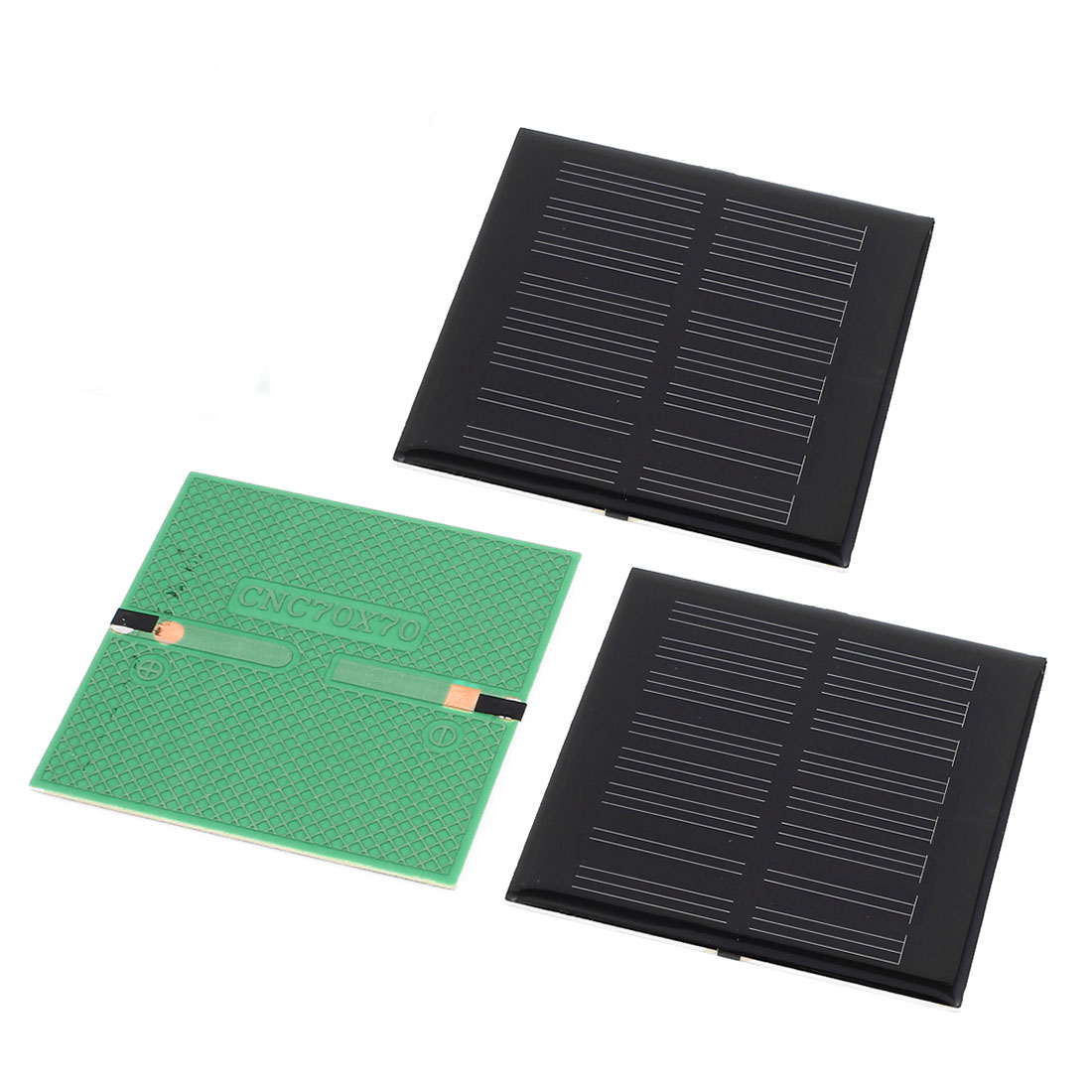 3 Pcs 4V 0.36W DIY Polycrystallinesilicon Solar Panel Power Cell Battery Charger 70mm x 70mm