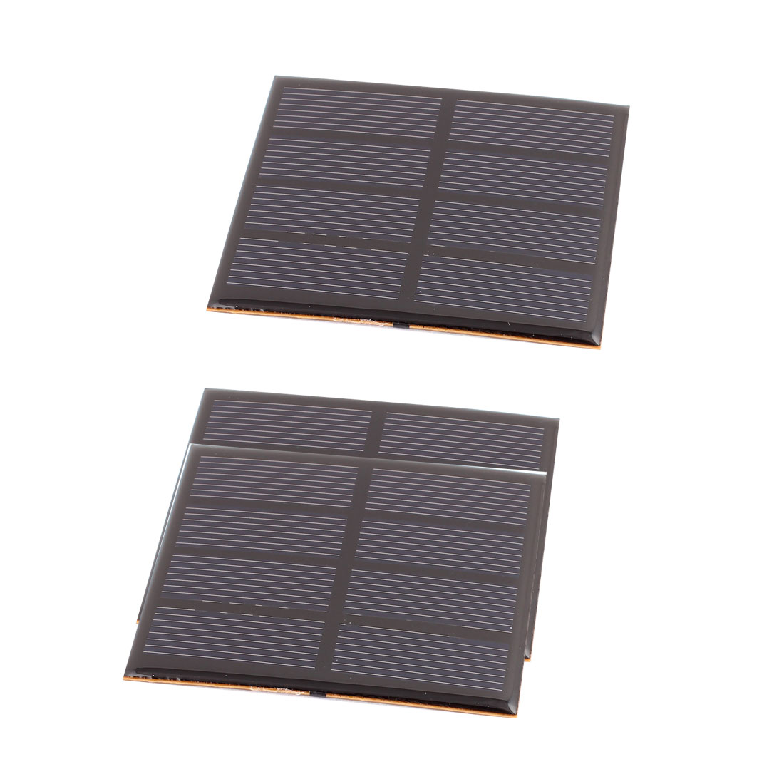 3 Pcs 2V 0.6W DIY Polycrystallinesilicon Solar Panel Power Cell Battery Charger 82mm x 70mm