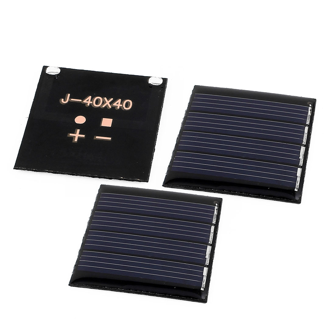 3 Pcs 2V 0.14W DIY Polycrystallinesilicon Solar Panel Power Cell Battery Charger 40mm x 40mm