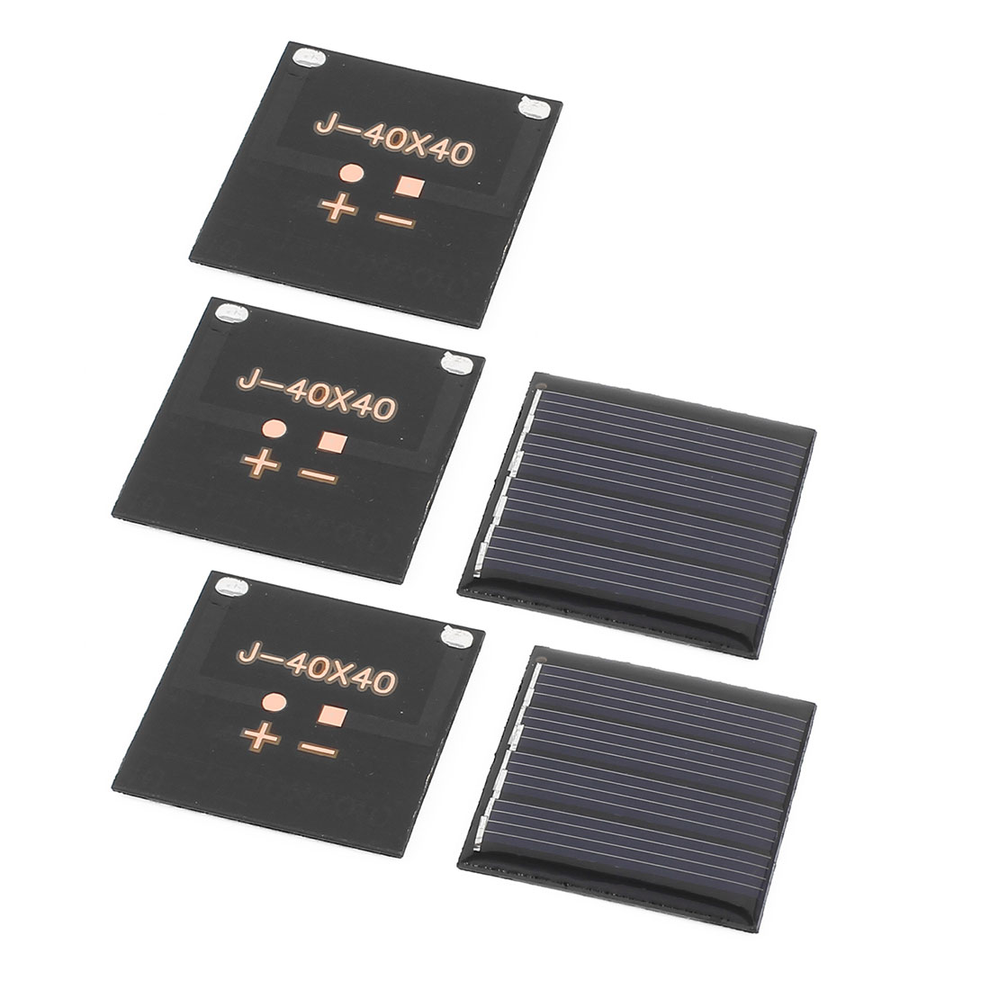 5 Pcs 2V 0.14W DIY Polycrystallinesilicon Solar Panel Power Cell Battery Charger 40mm x 40mm