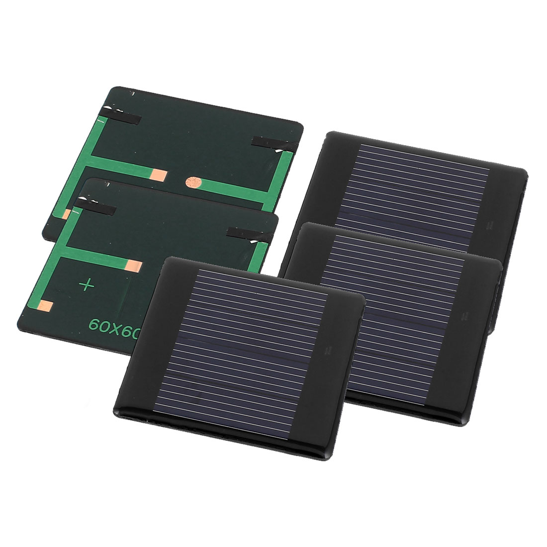5 Pcs 2V 0.18W DIY Polycrystallinesilicon Solar Panel Power Cell Battery Charger 60mm x 60mm