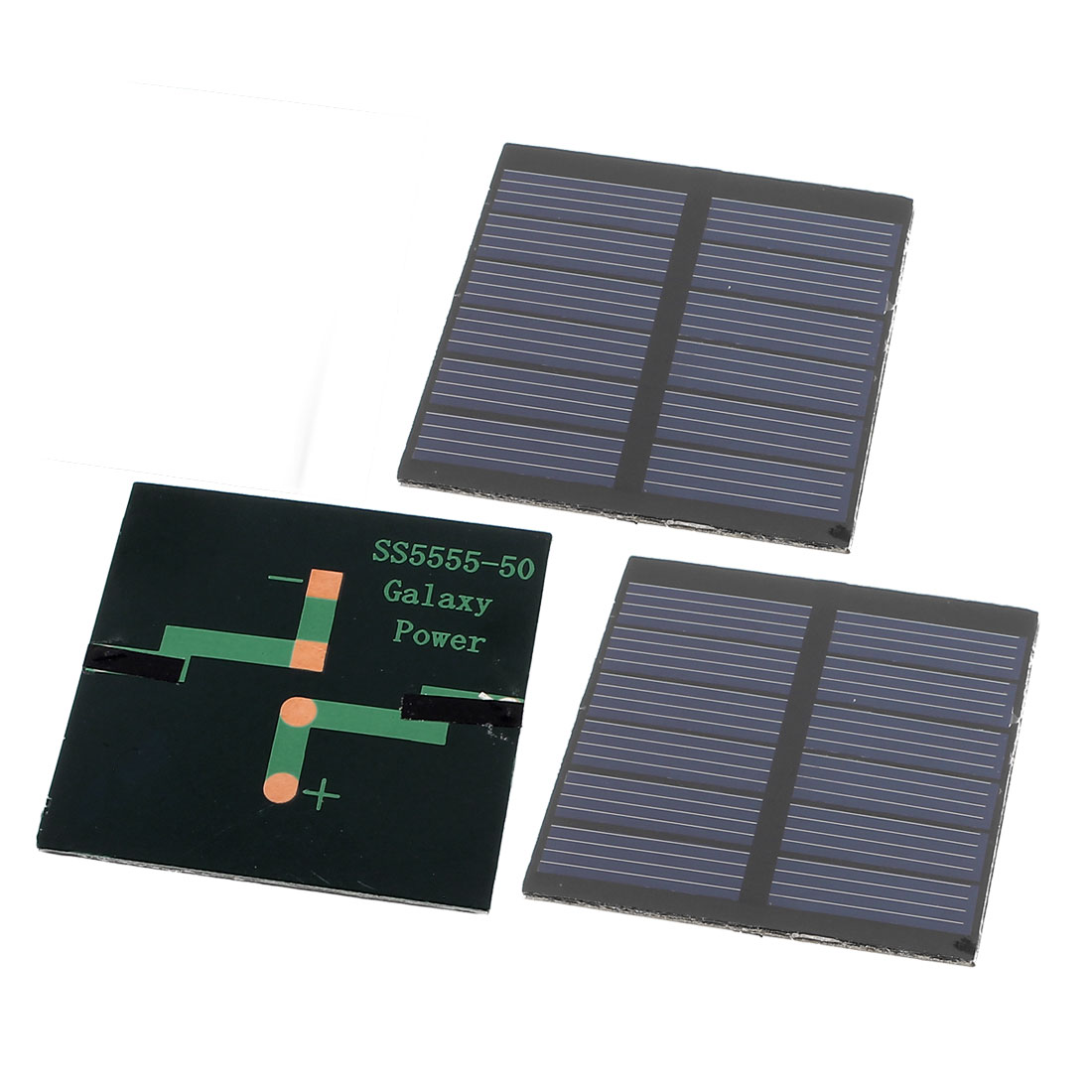 3 Pcs 3V 0.3W DIY Polycrystallinesilicon Solar Panel Power Cell Battery Charger 55mm x 55mm