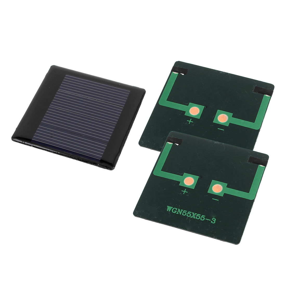 3 Pcs 2V 0.3W DIY Polycrystallinesilicon Solar Panel Power Cell Battery Charger 55mm x 55mm