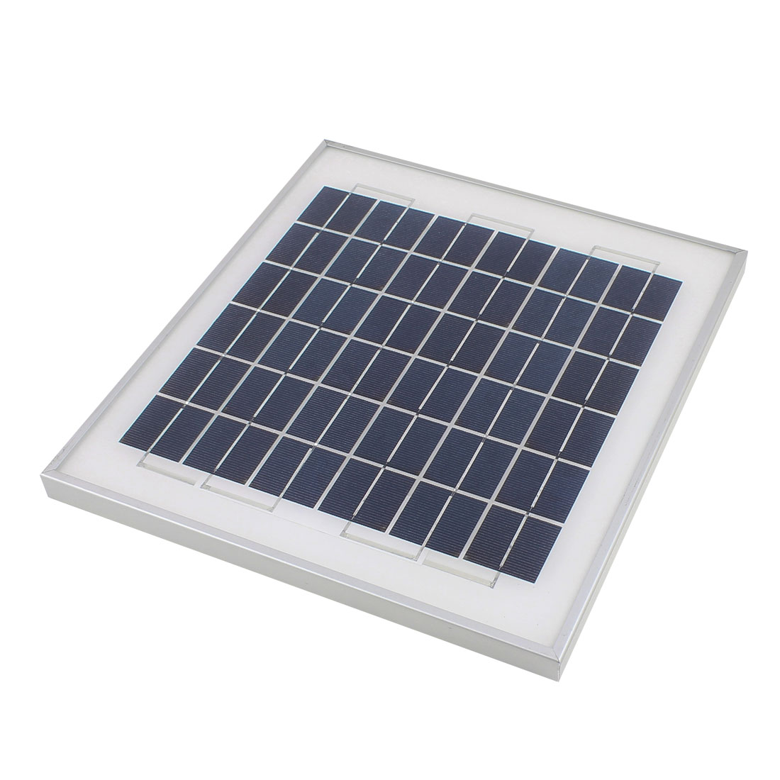 18V 10W DIY Polycrystallinesilicon Solar Panel Power Cell Battery Charger 330mm x 300mm x 20mm