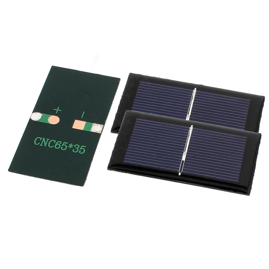 3 Pcs 0.5V 0.15W DIY Polycrystallinesilicon Solar Panel Power Cell Battery Charger 65mm x 35mm