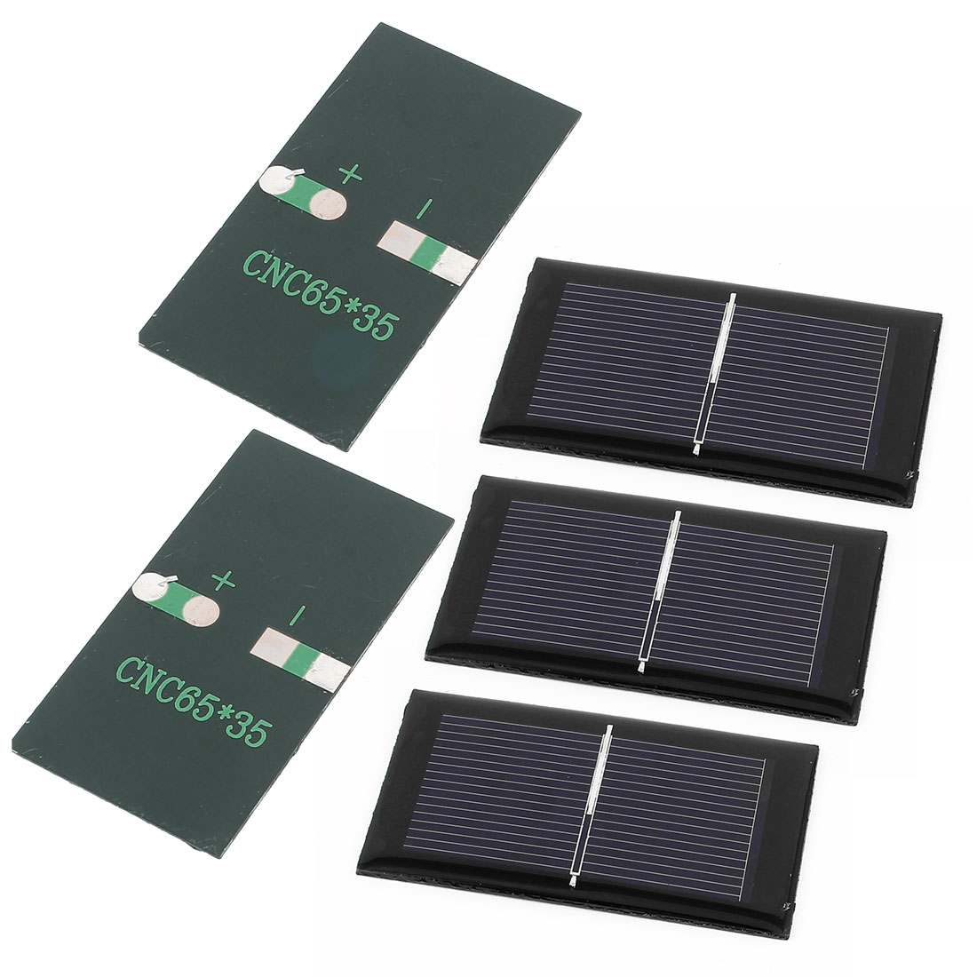 5 Pcs 0.5V 0.15W DIY Polycrystallinesilicon Solar Panel Power Cell Battery Charger 65mm x 35mm