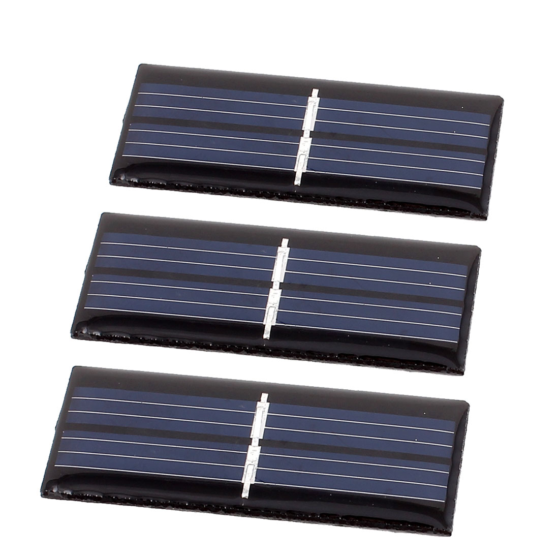 3 Pcs 1V 0.08W DIY Polycrystallinesilicon Solar Panel Power Cell Battery Charger 55mm x 22mm