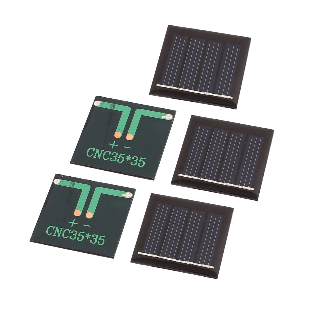 5 Pcs 2V 0.09W DIY Polycrystallinesilicon Solar Panel Power Cell Battery Charger 35mm x 35mm