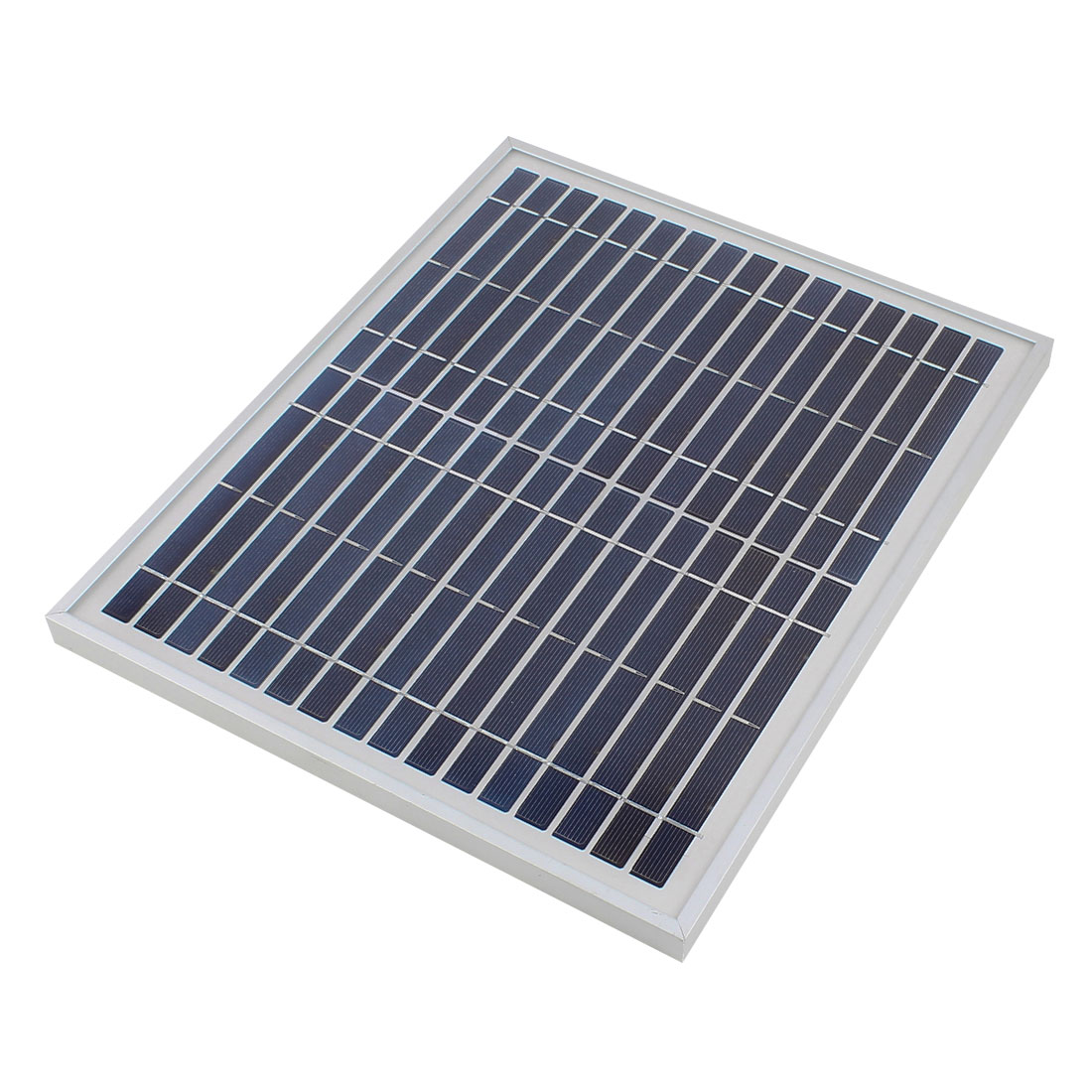16V 10W DIY Polycrystallinesilicon Solar Panel Power Cell Battery Charger 345mm x 285mm x 18mm
