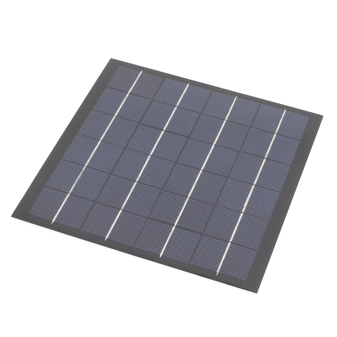 12V 5W DIY Polycrystallinesilicon Solar Panel Power Cell Battery Charger 195mm x 190mm