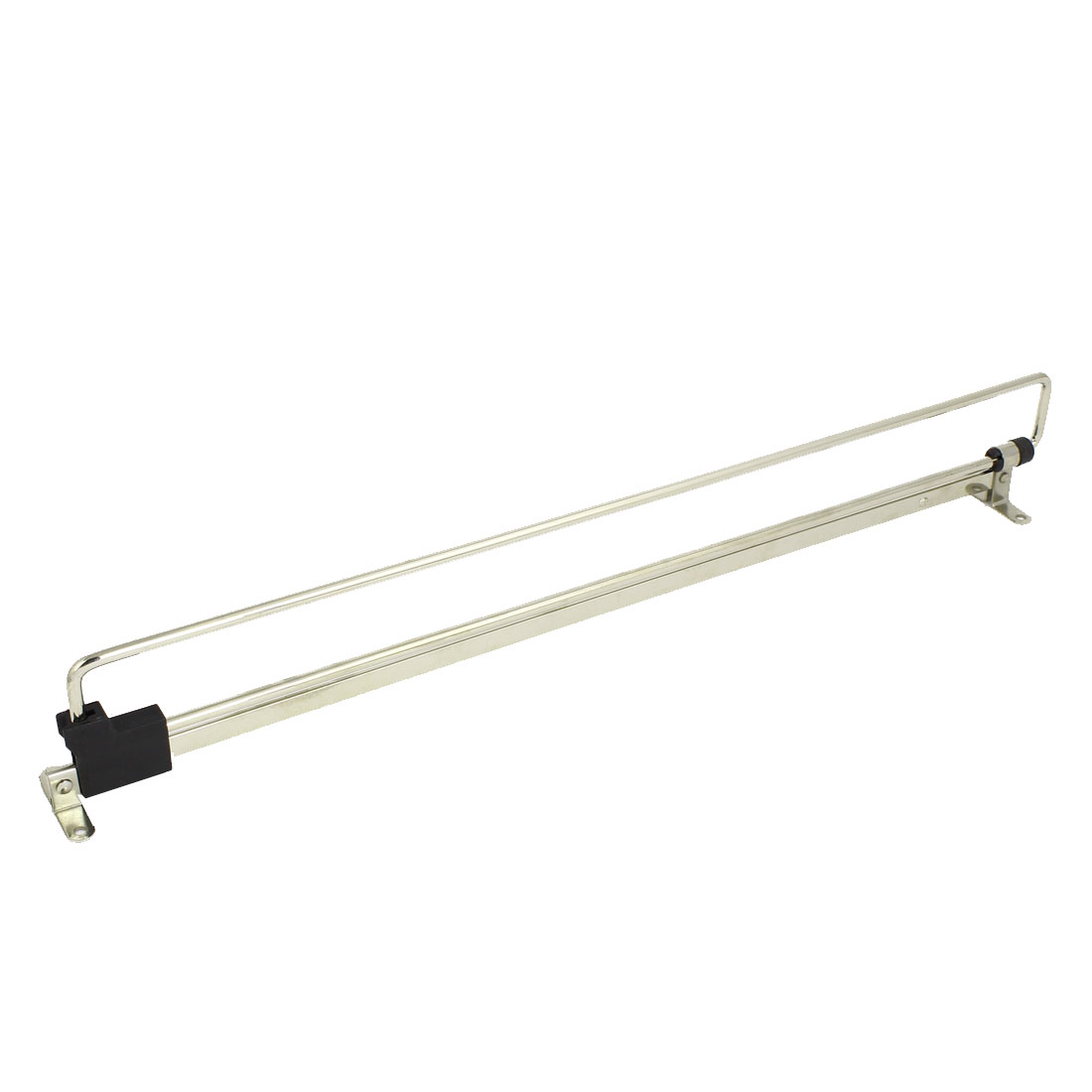 Wardrobe Cupboard Top Mount Pull out Retractable Rail Close Hanger 450mm Length