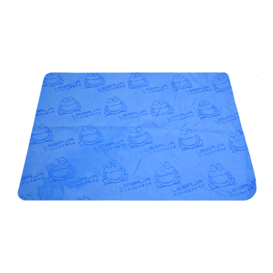 Blue Car Body Window Cleaning Washing Tool Kitchen Wash Cloth Absorbent Towel
